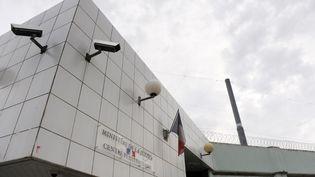 La façade de la prison de Borgo, en Haute-Corse, le 18 septembre 2010. (STEPHAN AGOSTINI / AFP)