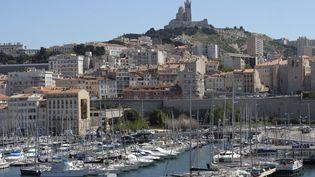 Le Vieux Port à Marseille (illustration). (BORIS HORVAT / AFP)
