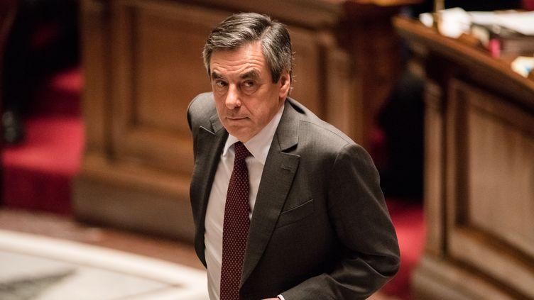 François Fillon à l'Assemblée nationale, en janvier 2016. (CITIZENSIDE/YANN KORBI / CITIZENSIDE)