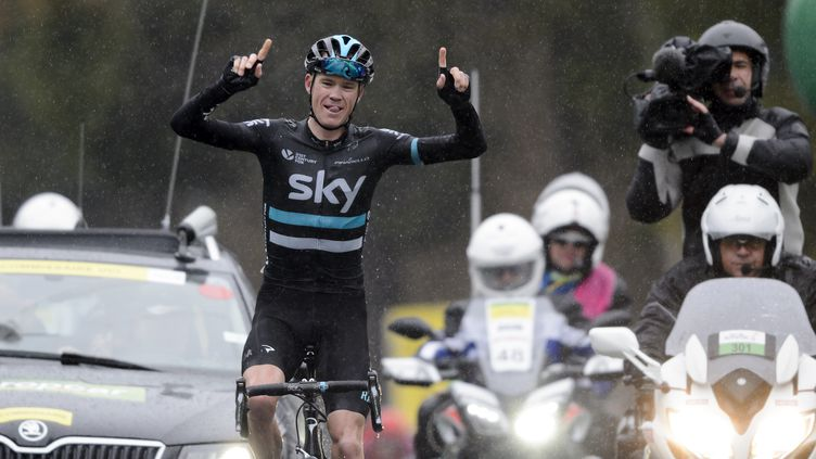 Christopher Froome (Sky)  (FABRICE COFFRINI / AFP)