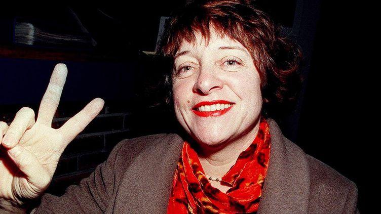 Florence Cestace, seule femme à avoir reçu le Grand Prix d'Angoulême, en 2000  (Cor / AFP)