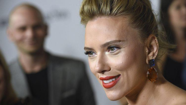 """Scarlett Johansson à Los Angeles (Etats-Unis) pour la première de """"Marriage Story"""", le 5 novembre 2019. (CHRIS PIZZELLO / AP / SIPA)"""