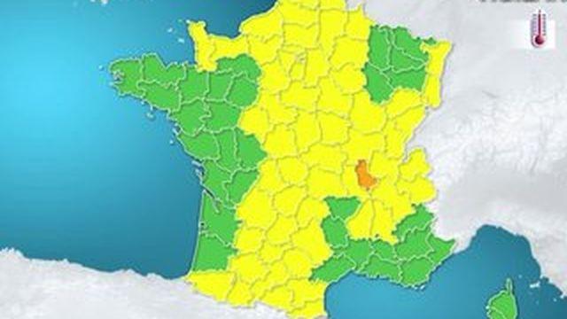 La France frôle l'alerte canicule