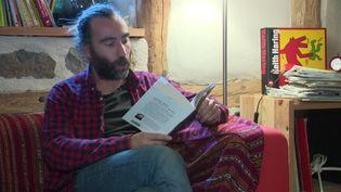 L'auteur planche déjà sur son prochain roman (FRANCE 3)