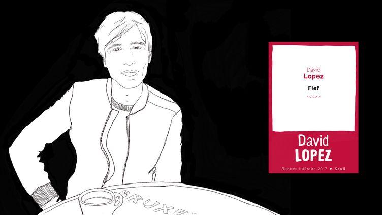 """David Lopez, auteur de """"Fief"""" (Seuil)  (Laurence Houot / Culturebox)"""