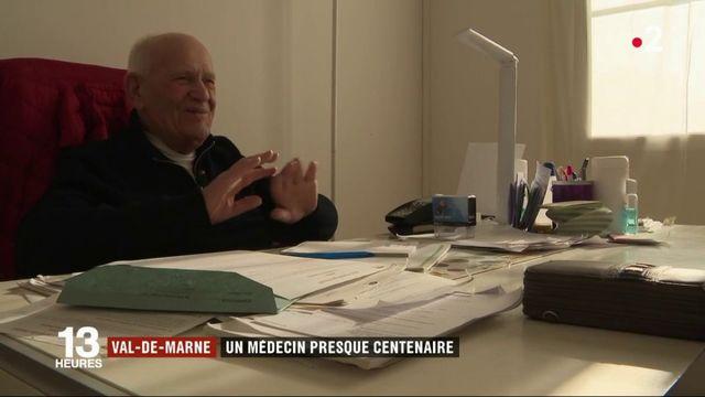 Val-de-Marne : un médecin presque centenaire