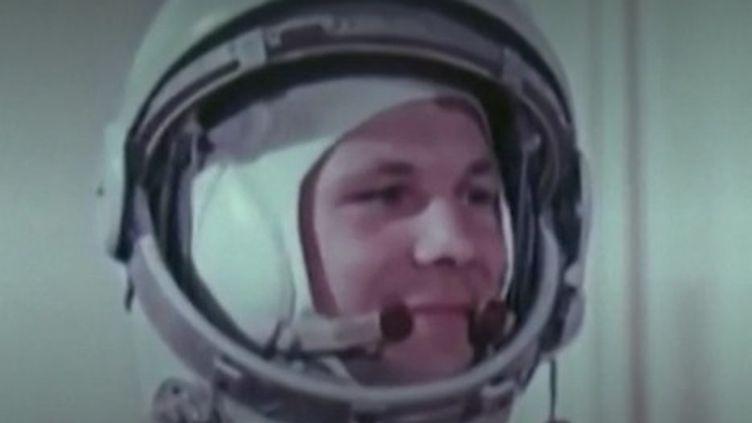 Youri Gagarine (CAPTURE ECRAN FRANCE 2)