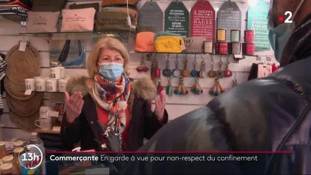 Dieppe : une commerçante en garde à vue pour avoir ouvert son magasin