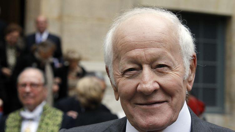 Le journaliste et écrivain Jacques Chancel, en octobre 2011 à Paris. (FRANCOIS GUILLOT / AFP)