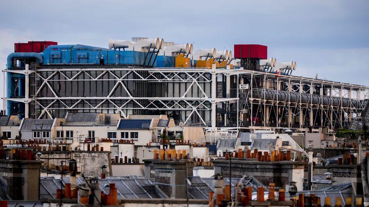 Le Centre Pompidou, 27 mai 2018 (VINCENT ISORE / MAXPPP)