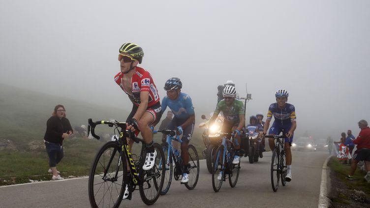 Yates, Quintana et Valverde sur la Vuelta 2018 (BETTINI LUCA / BETTINIPHOTO)