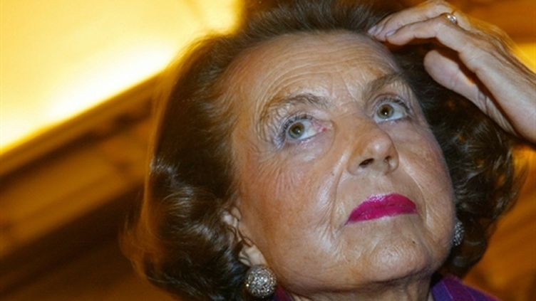 Liliane Bettencourt (novembre 2002) (AFP / Joël Saget)