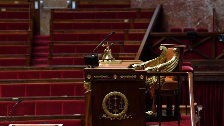 La place du président de l'Assemblée nationale. (ALAIN JOCARD / AFP)