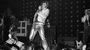 Johnny Hallyday, Concert au Palais des Sports, Paris 1967  (AFP)