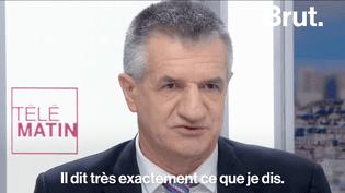 """Jean Lassalle, Jean-Luc Mélenchon ou bien même François Fillon ont tendance à dire que des idées de leurs programmes ont été """"copiées"""" par certains de leurs adversaires.  (Brut)"""