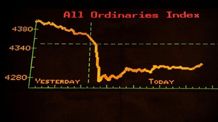 Les bourses européennes et Wall street rechutent (AFP - Greg Wood)