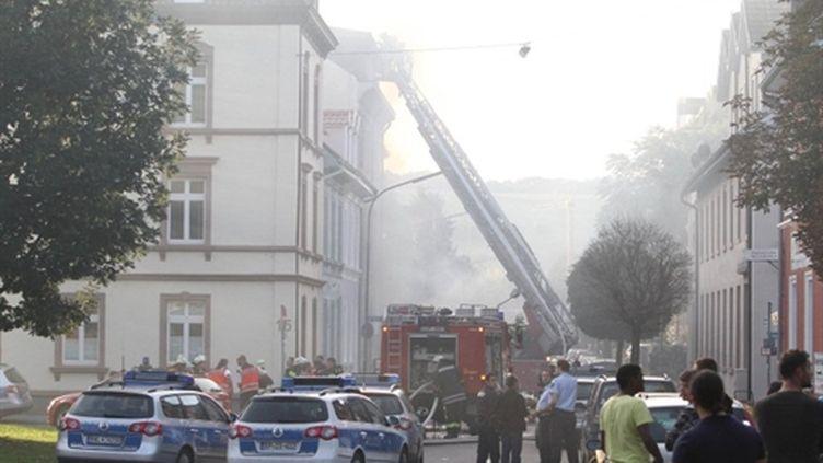 Fusillade à Lörrach (19/09/2010) (AFP/KRISTOFFMELLER)