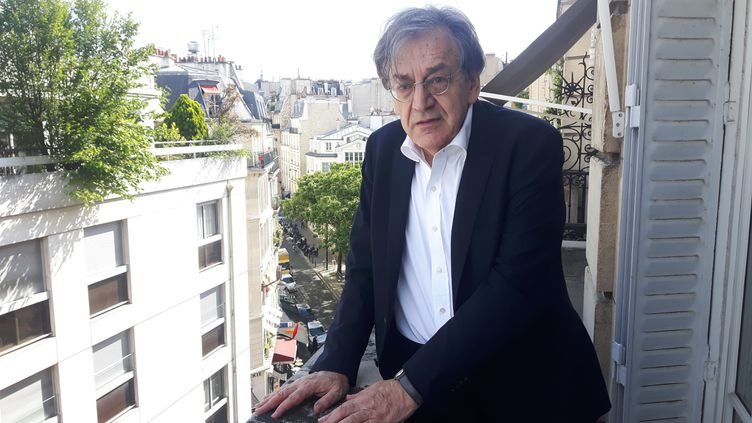 Alain Finkielkraut, philosophe et académicien.. (SEBASTIEN BAER / FRANCEINFO / RADIO FRANCE)