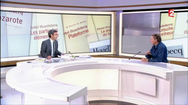 """Invité : Michel Houellebecq n'aime pas les """"happy ends"""""""
