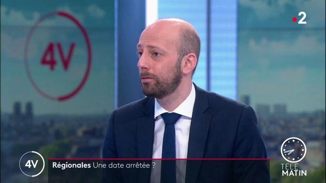 Régionales 2021: «Il faut tenir ces élections en juin», précise Stanislas Guerini (LREM)