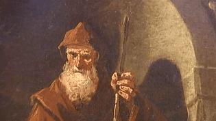 Cette représentation de Saint-François de Paul est l'une des sept toiles qui vont être restituées  (France 2/Culturebox)