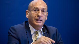 Francois Bourdillon, le directeur de l'agence Santé Publique France, le 6 octobre 2016 à Paris. (MAXPPP)