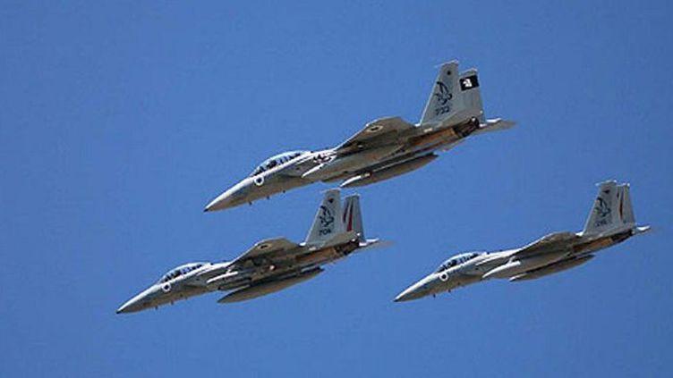 Appareils F15 volant au-dessus de la Méditerranée le 20 janvier 2015. Ce type d'avion a été utilisé pour bombarder le quartier général de l'OLP à Tunis le 1er octobre 1985. (AFP - Israeli Defence Forces)