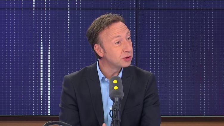 Stéphane Bern, invité de franceinfo le20 septembre 2019. (FRANCEINFO / RADIOFRANCE)