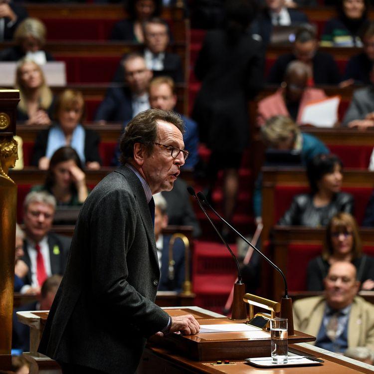 Le patron des députés LREM, Gilles Le Gendre, à l'Assemblée nationale, le 5 décembre 2018. (ALAIN JOCARD / AFP)