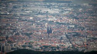 La ville de Clermont-Ferrand (Puy-de-Dôme), le 23 mars 2017. (PHOTO12 / GILLES TARGAT)