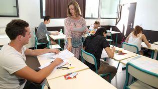 L'an dernier, plus de 700 000 élèves se sont présentés au épreuves du bac. Icià Cannes, le 17 juin 2015. (MAXPPP)