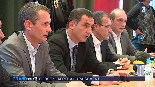 Corse : l'appel à l'apaisement entendu