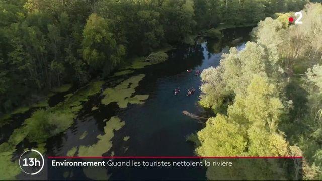 Environnement : quand les touristes nettoient la rivière