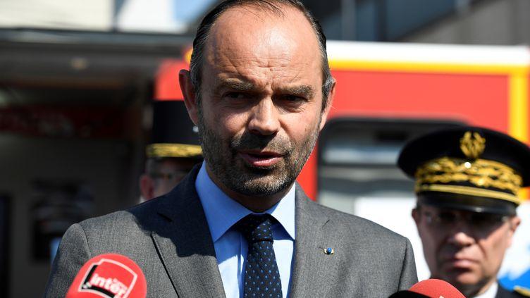 Le Premier ministre, Edouard Philippe, le 29 juin 2018 à Saint-Denis (Seine-Saint-Denis). (BERTRAND GUAY / AFP)