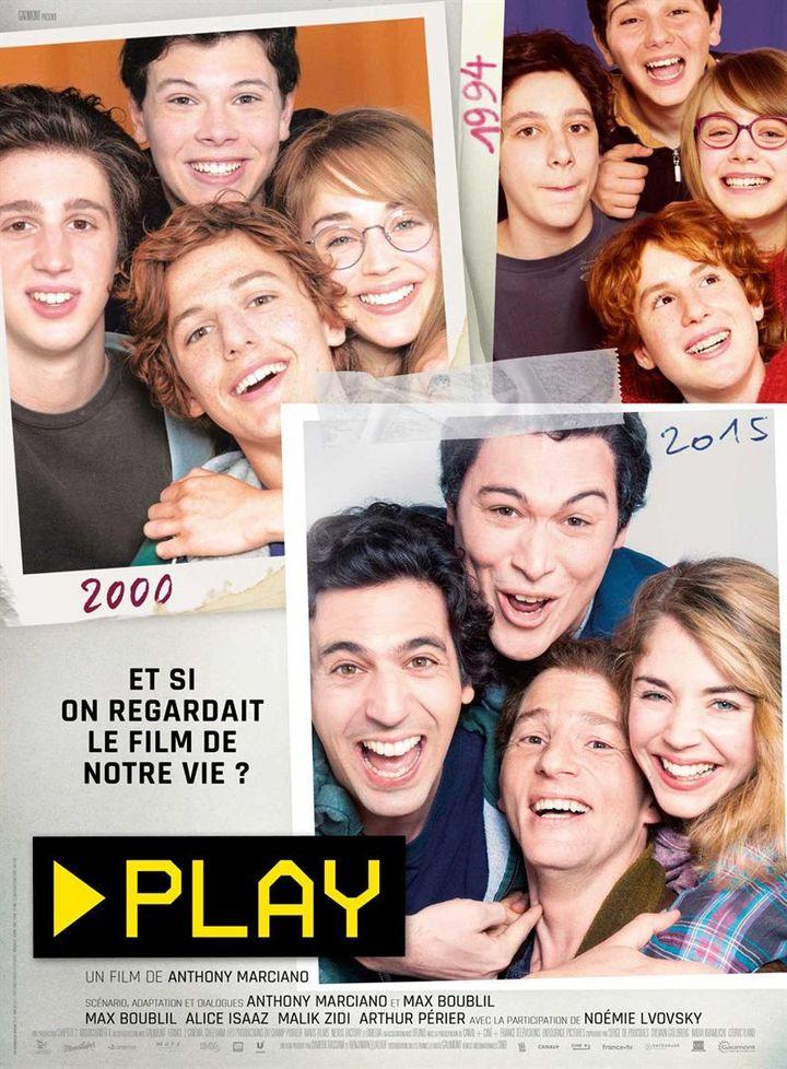"""Affiche de """"Play"""", d'Anthony Marciani (2020) (Gaumont distribution)"""