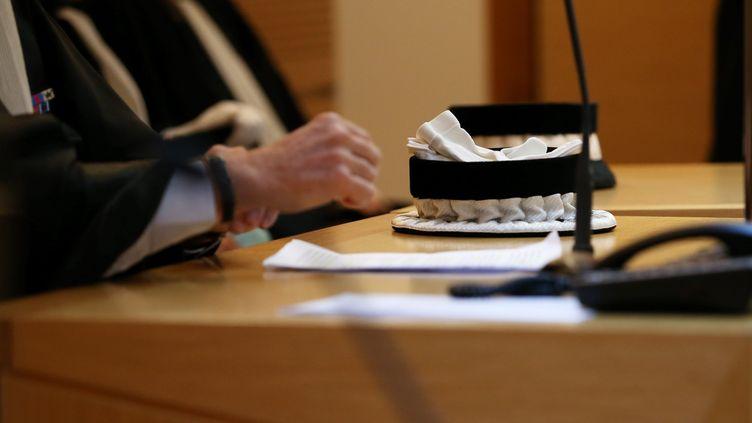 Audience au tribunal de grande instance de Besançon dans le Doubs (photo d'illustration). (SAMUEL COULON / MAXPPP)