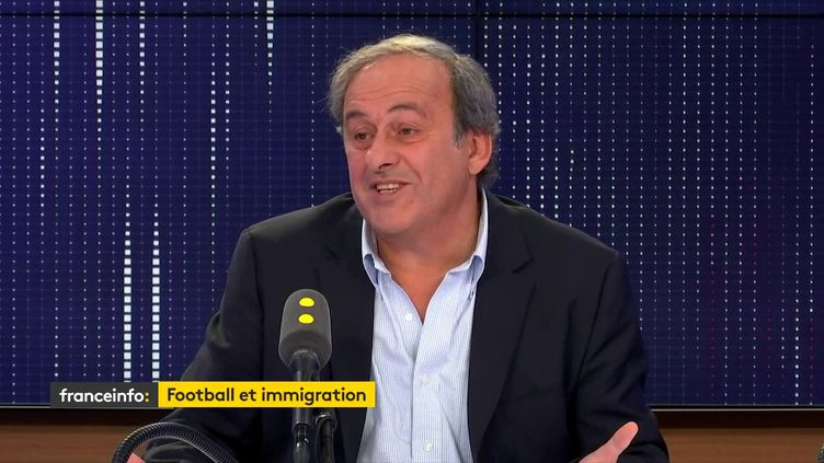 Michel Platini, le 8 novembre 2019. (FRANCEINFO / RADIO FRANCE)