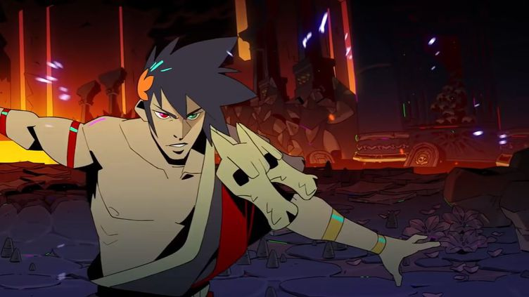 """Image extraite du trailer du jeu vidéo """"Hadès"""" (CAPTURE D'ÉCRAN YOUTUBE)"""