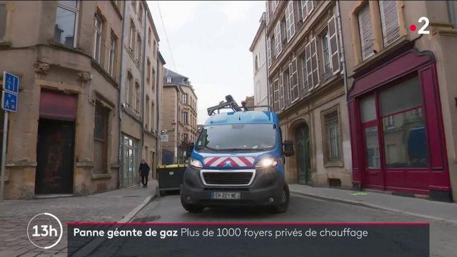 Metz : la galère d'un millier de foyers privés de gaz