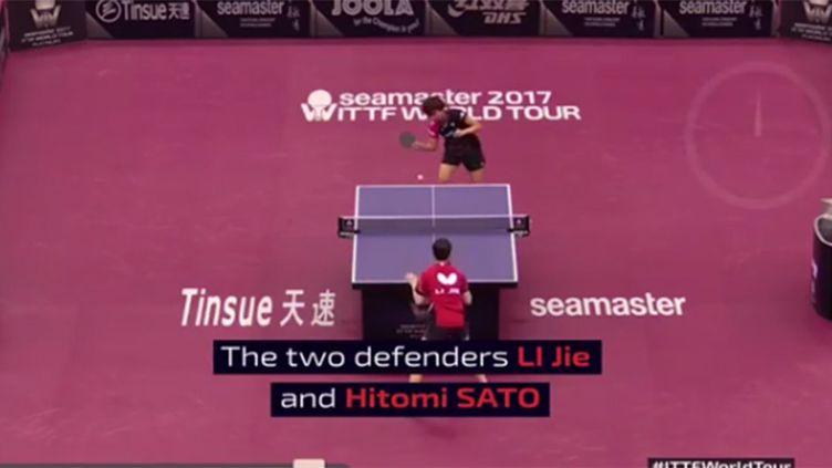 L'échange le plus long de l'histoire entre Li Jie et Hitomi Sato à l'Open du Qatar