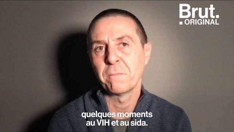 """VIDEO. """"Être séropo, c'était être condamné à mort"""" : dans une tribune, le président d'Actions Traitements revient sur les années sida (BRUT)"""