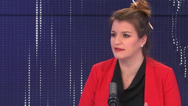Marlène Schiappa, le 14 mars 2021. (FRANCEINFO / RADIO FRANCE)