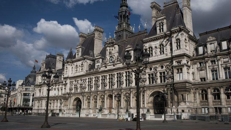 L'Hôtel de Ville à Paris, le 14 août 2018. (JOEL SAGET / AFP)