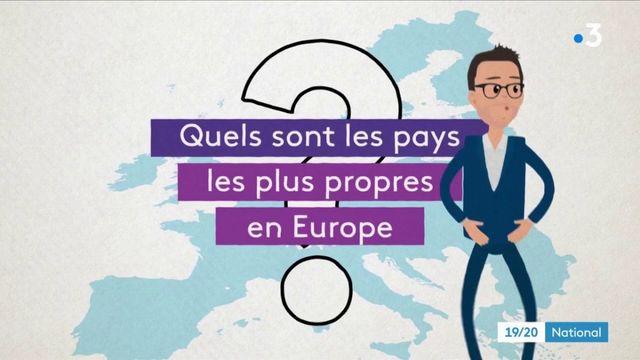 Quels sont les pays les plus propres en Europe ?