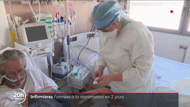 Covid-19 : des infirmières formées en deux jours pour aider les services de réanimation