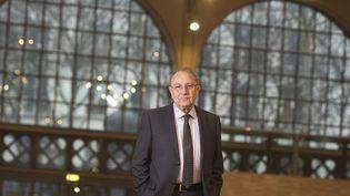 Pierre Aidenbaum, alors maire du 3e arrondissement de Paris, le 20 février 2014 au Carreau du Temple, à Paris. (JOEL SAGET / AFP)