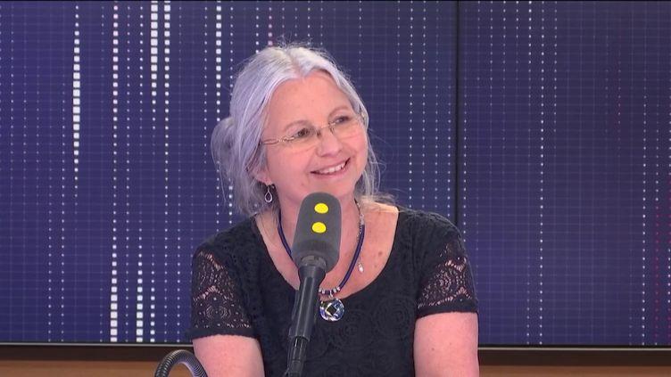 La députéede l'Oise Agnès Thill, invitée de franceinfo. (FRANCEINFO / RADIOFRANCE)