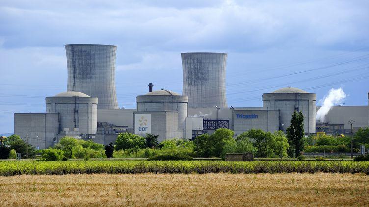 La centrale nucléaire du Tricastin (Drôme) le 16 novembre 2017. (TRIPELON-JARRY / ONLY FRANCE / AFP)