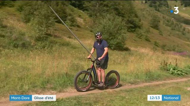 Mont-Dore : le fatscoot, nouvelle glisse de l'été