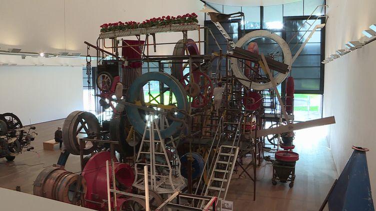 Réouverture du musée Jean Tinguely à Bâle en Suisse (France Télévisions / France 3 Alsace)